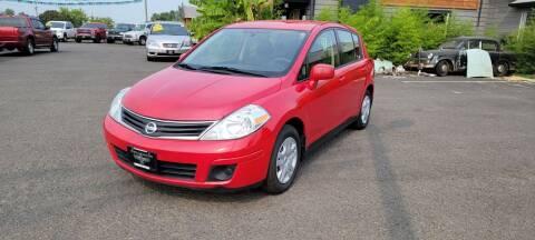 2012 Nissan Versa for sale at Persian Motors in Cornelius OR
