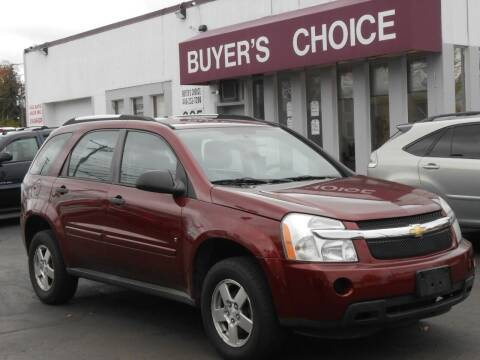 2008 Chevrolet Equinox for sale at Buyers Choice Auto Sales in Bedford OH