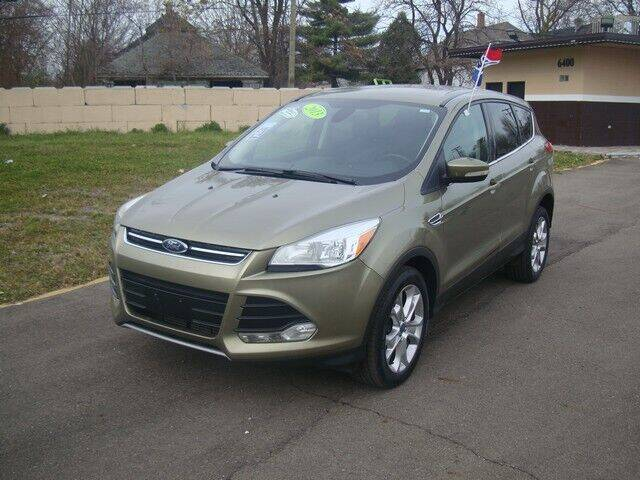 2013 Ford Escape for sale at MOTORAMA INC in Detroit MI