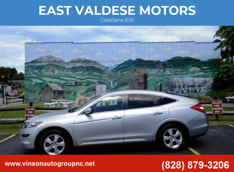2010 Honda Accord Crosstour for sale at EAST VALDESE MOTORS / VINSON AUTO GROUP in Valdese NC