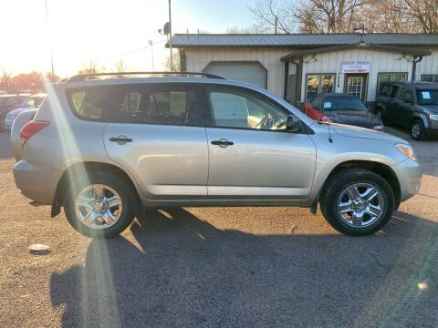 2008 Toyota RAV4 for sale at RIVERSIDE AUTO SALES in Sioux City IA