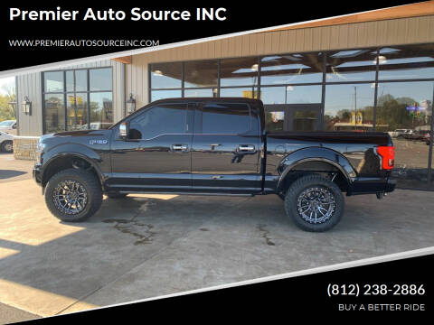 2020 Ford F-150 for sale at Premier Auto Source INC in Terre Haute IN