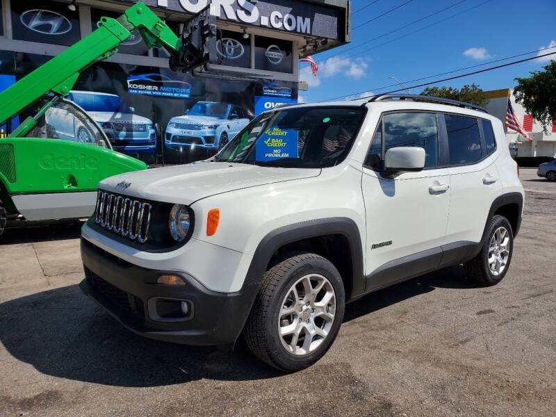 2018 Jeep Renegade for sale in Hollywood, FL