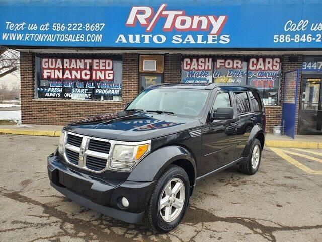 2010 Dodge Nitro for sale at R Tony Auto Sales in Clinton Township MI