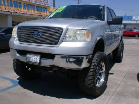 2005 Ford F-150 for sale at Williams Auto Mart Inc in Pacoima CA
