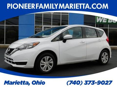 2019 Nissan Versa Note for sale at Pioneer Family preowned autos in Williamstown WV