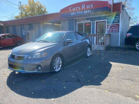2012 Lexus CT 200h for sale at Cars R Us in Binghamton NY