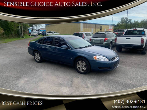 2006 Chevrolet Impala for sale at Sensible Choice Auto Sales, Inc. in Longwood FL