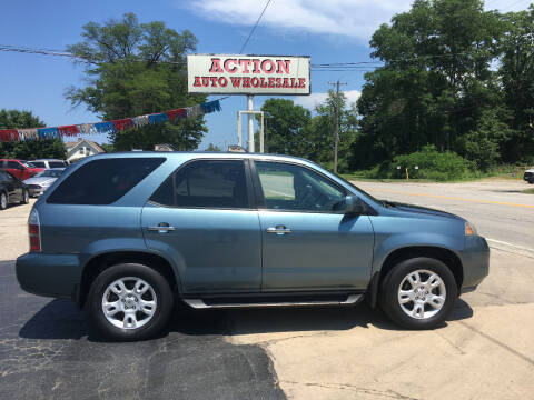 2005 Acura MDX for sale at Action Auto Wholesale in Painesville OH