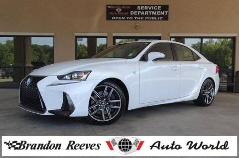 2019 Lexus IS 300 for sale at Brandon Reeves Auto World in Monroe NC