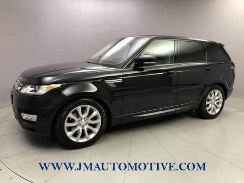 2016 Land Rover Range Rover Sport for sale at J & M Automotive in Naugatuck CT