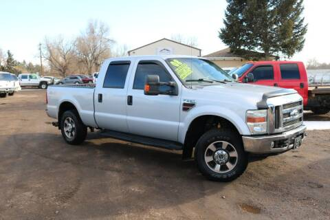 2008 Ford F-250 Super Duty for sale at Northern Colorado auto sales Inc in Fort Collins CO