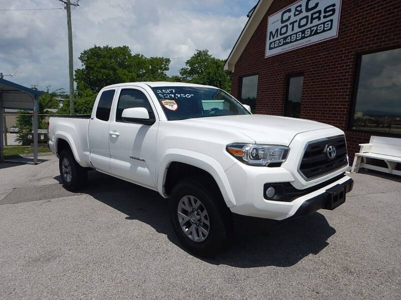 2017 Toyota Tacoma for sale at C & C MOTORS in Chattanooga TN