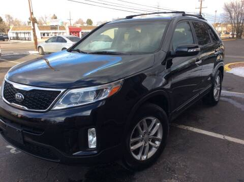 2014 Kia Sorento for sale at AROUND THE WORLD AUTO SALES in Denver CO