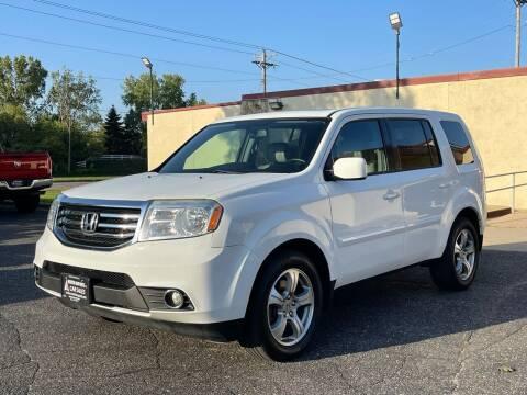2014 Honda Pilot for sale at North Imports LLC in Burnsville MN