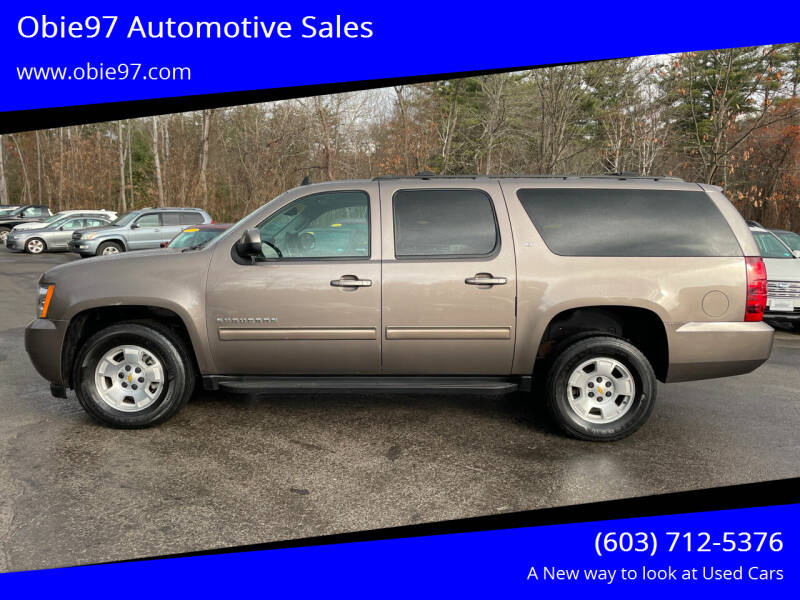 2013 Chevrolet Suburban for sale at Obie97 Automotive Sales in Londonderry NH