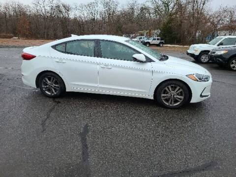 2017 Hyundai Elantra for sale at BETTER BUYS AUTO INC in East Windsor CT