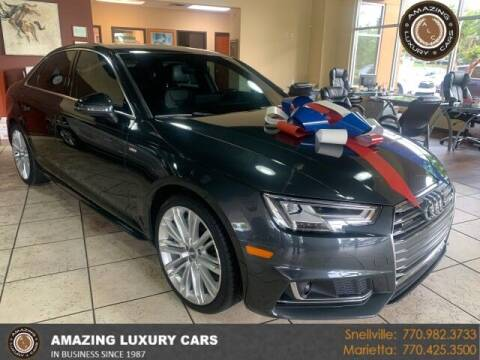 2017 Audi A4 for sale at Amazing Luxury Cars in Snellville GA