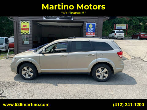 2009 Dodge Journey for sale at Martino Motors in Pittsburgh PA