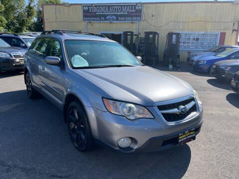 2008 Subaru Outback for sale at Virginia Auto Mall in Woodford VA