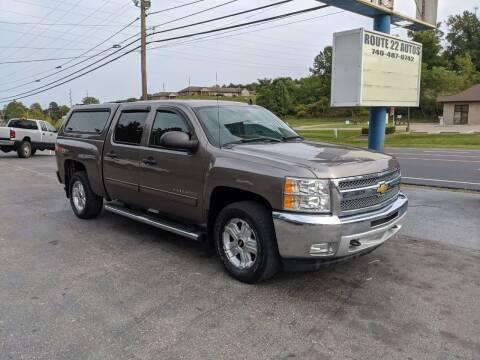 2012 Chevrolet Silverado 1500 for sale at Route 22 Autos in Zanesville OH
