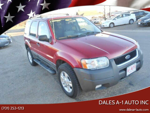 2004 Ford Escape for sale at Dales A-1 Auto Inc in Jamestown ND