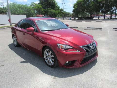 2015 Lexus IS 250 for sale at United Auto Center in Davie FL