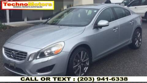 2013 Volvo S60 for sale at Techno Motors in Danbury CT