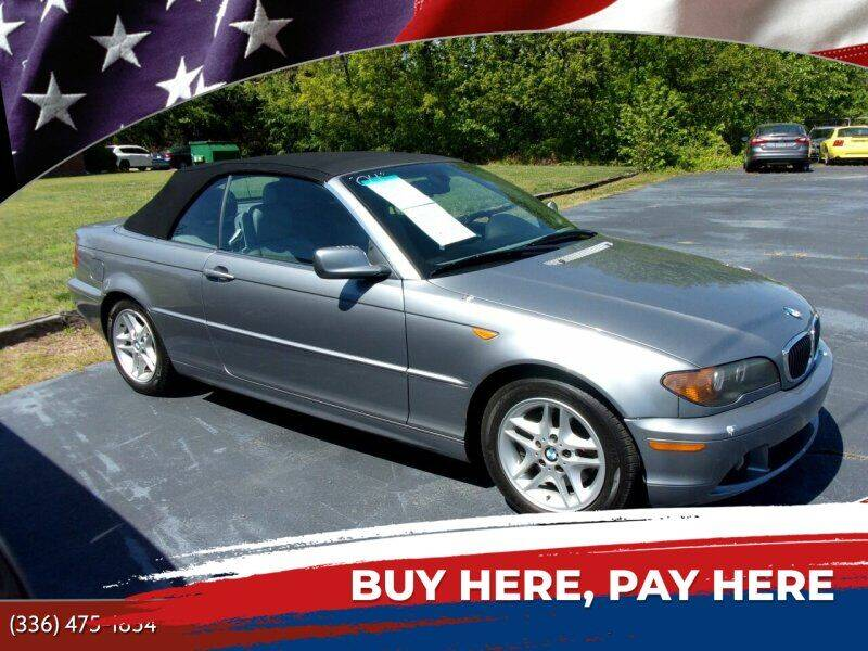 2004 BMW 3 Series for sale at CAROLINA MOTORS in Thomasville NC