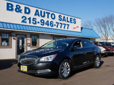 2014 Buick LaCrosse for sale at B & D Auto Sales Inc. in Fairless Hills PA