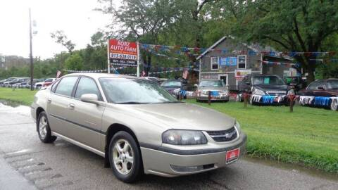 2003 Chevrolet Impala for sale at Korz Auto Farm in Kansas City KS