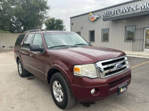 2010 Ford Expedition for sale at Midtown Motor Company in San Antonio TX