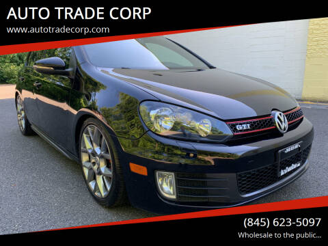 2014 Volkswagen GTI for sale at AUTO TRADE CORP in Nanuet NY