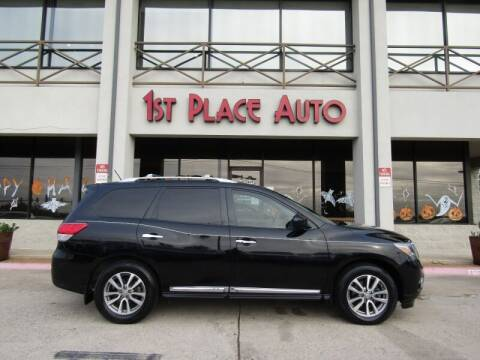 2015 Nissan Pathfinder for sale at First Place Auto Ctr Inc in Watauga TX
