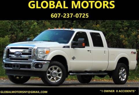 2012 Ford F-350 Super Duty for sale at GLOBAL MOTORS in Binghamton NY