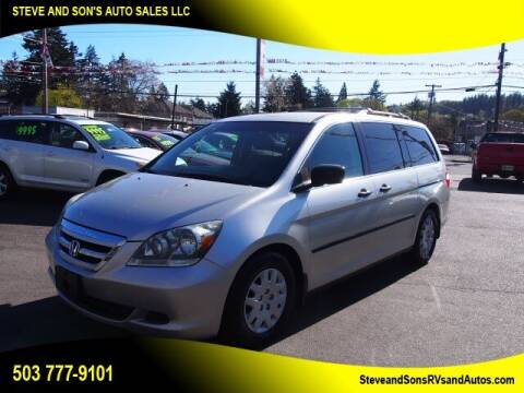 2007 Honda Odyssey for sale at Steve & Sons Auto Sales in Happy Valley OR