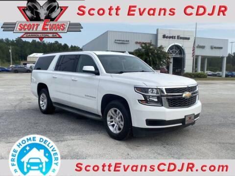 2015 Chevrolet Suburban for sale at SCOTT EVANS CHRYSLER DODGE in Carrollton GA