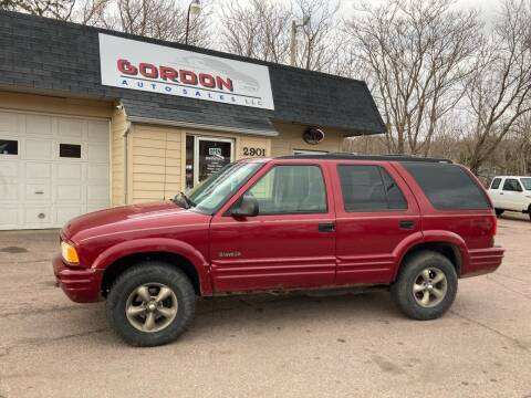 1997 Oldsmobile Bravada for sale at Gordon Auto Sales LLC in Sioux City IA