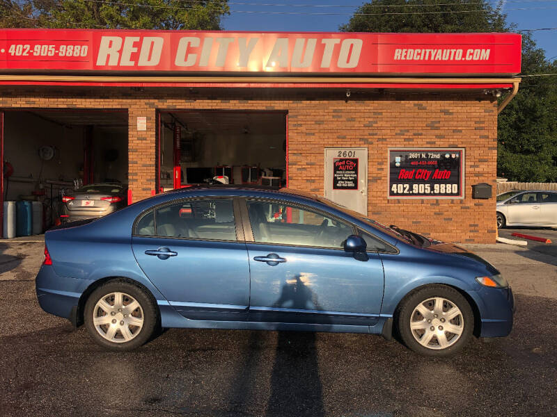 2010 Honda Civic for sale at Red City  Auto in Omaha NE