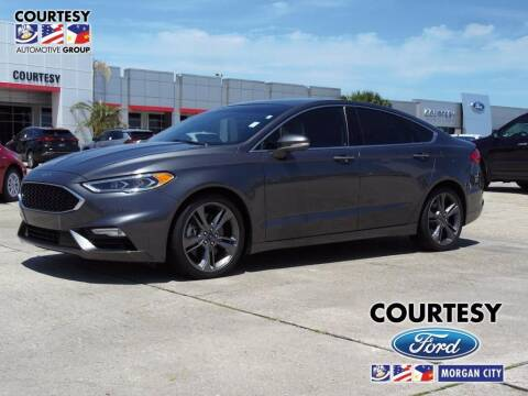 2017 Ford Fusion for sale at Courtesy Toyota & Ford in Morgan City LA