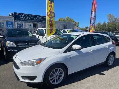 2017 Ford Focus for sale at Black Diamond Auto Sales Inc. in Rancho Cordova CA