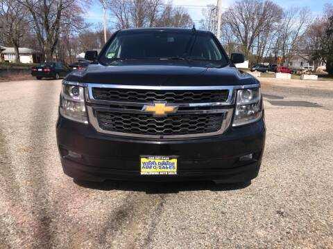 2015 Chevrolet Suburban for sale at Worldwide Auto Sales in Fall River MA