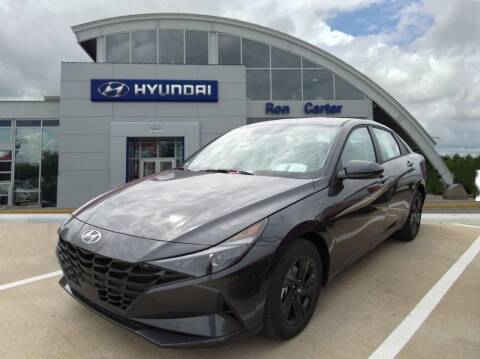2021 Hyundai Elantra for sale at Ron Carter  Clear Lake Used Cars in Houston TX