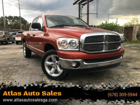 2008 Dodge Ram Pickup 1500 for sale at Atlas Auto Sales in Smyrna GA