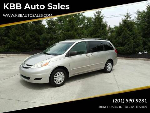 2006 Toyota Sienna for sale at KBB Auto Sales in North Bergen NJ