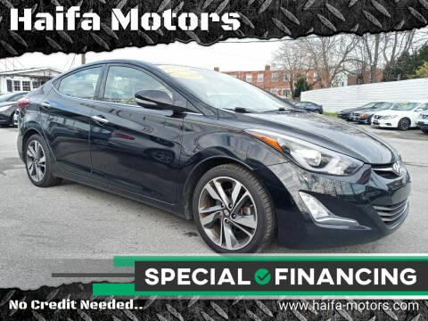 2014 Hyundai Elantra for sale at Haifa Motors in Philadelphia PA