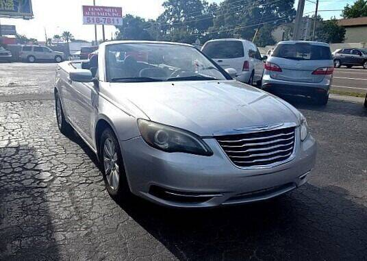 2012 Chrysler 200 Convertible for sale at DONNY MILLS AUTO SALES in Largo FL