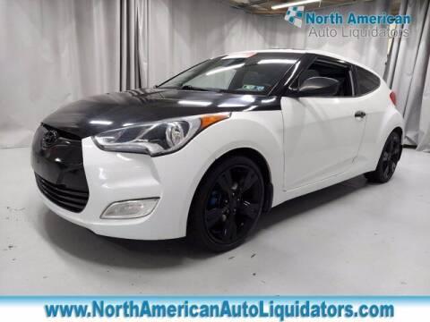 2013 Hyundai Veloster for sale at North American Auto Liquidators in Essington PA