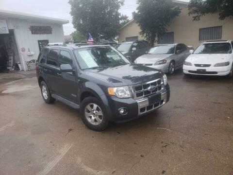 2008 Ford Escape for sale at Bad Credit Call Fadi in Dallas TX