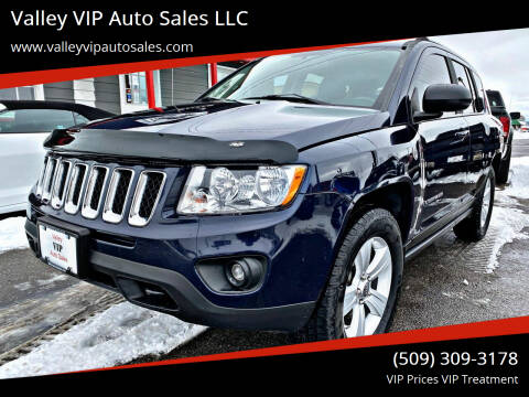 2012 Jeep Compass for sale at Valley VIP Auto Sales LLC in Spokane Valley WA